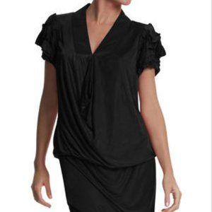 BCBG Max Azria Runway Darted Sleeve Dress NWOT